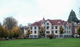 Furman Hall på den Oregon delstatsuniversitetet Fotografering för Bildbyråer