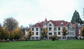 Furman Hall przy Oregon stanu uniwersytetem Obraz Stock