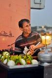Furmani z jedzeniem na ulicie Istanbuł obraz stock