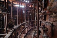 Furnace catwalk Royalty Free Stock Image