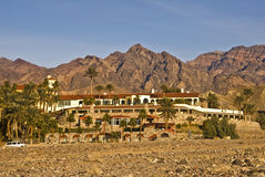 Furnace Creek Inn At Death Valley Royalty Free Stock Photography