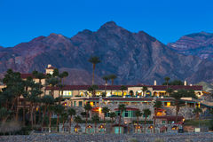 Furnace Creek Resort In Death Valley NP USA Royalty Free Stock Image