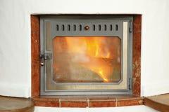 Furnace door Royalty Free Stock Photos