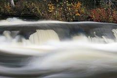 Furnace Falls In Autumn stock image