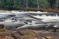 Furnace Falls In Autumn royalty free stock photography