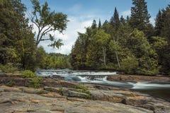 Furnace Falls in Blurr stock image