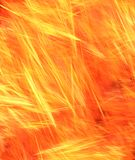 Furnace Flames Background Royalty Free Stock Image