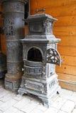 Furnace. Vintage style furnace. Obsolete stove. Retro style furnace Stock Photo