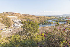 Furnas水坝在米纳斯吉拉斯州,巴西 库存照片