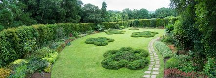 Panoramic view of the Terra Nostra gardens in Furnas on the island of São Miguel