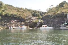 Furnas fördämning i Minas Gerais, Brasilien Royaltyfri Foto