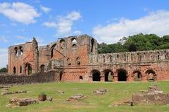 Furness修道院Cumbria 库存照片