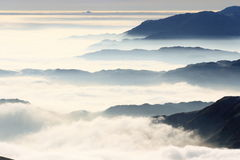 Furness Fells from Helvellyn Stock Image