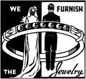 We Furnish The Jewelry Royalty Free Stock Photo
