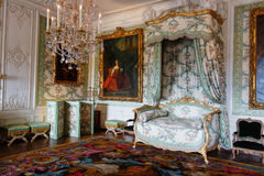 A furnished room in the castle of Versailles Royalty Free Stock Image