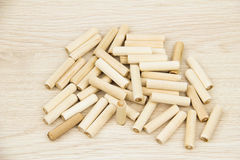 Furnishing accessories. On the chipboard Royalty Free Stock Photos