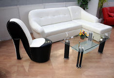 Furniture. A selection of home furniture Royalty Free Stock Images