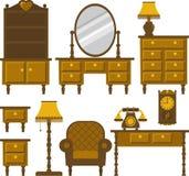 Furniture. Antique furniture for various interior Stock Images