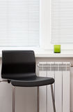 Furniture. Room with white and black furniture Royalty Free Stock Photos
