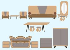 Furniture. Royalty Free Stock Photos
