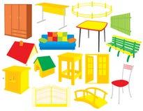 Furniture royalty free illustration