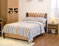 Furniture. A set of new furniture room - bed room Stock Images