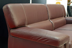 Furniture. Home leather furniture Royalty Free Stock Photo