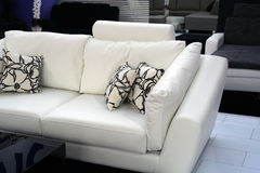 Furniture. Black and wihte living room furniture set Royalty Free Stock Photo