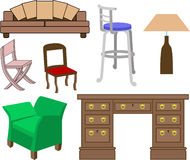 Furniture stock illustration