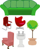 Furniture royalty free illustration