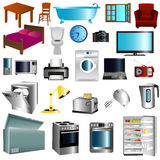 Furniture and appliances Royalty Free Stock Image