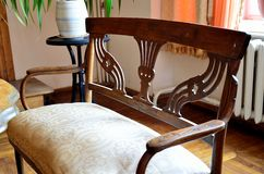 Furniture art nouveau Royalty Free Stock Photography