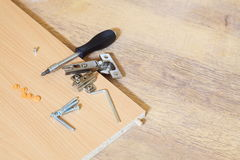 Furniture Assembling Kit Stock Images