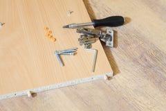 Furniture Assembling Kit Royalty Free Stock Photos