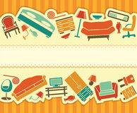 Furniture banner Stock Photo
