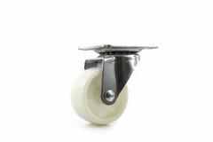 Furniture caster wheel. Royalty Free Stock Photos