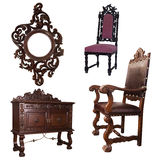 Furniture and chair Royalty Free Stock Image