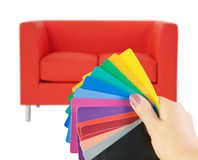 Furniture choice Stock Photography