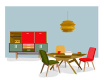 Furniture collection Royalty Free Stock Image