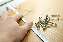 Furniture construction Stock Photography