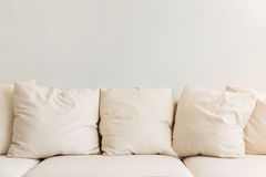 Furniture cushion Stock Photo