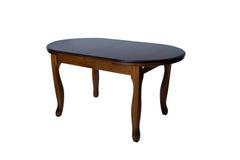 furniture De madeira redonda foto de stock royalty free