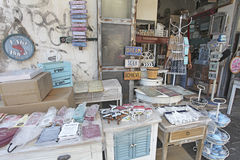 Furniture decor shop in Old Yaffo, Israel Stock Photos