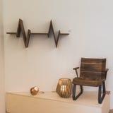 Furniture on display at Ventura Lambrate space during Milan Desi Stock Image
