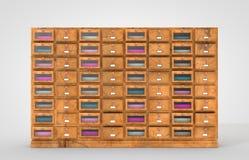 Furniture Drawer Set Royalty Free Stock Photo