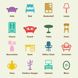 Furniture elements Stock Photography