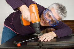 Furniture fitter Stock Photo