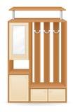 Furniture hall vector illustration Royalty Free Stock Photos