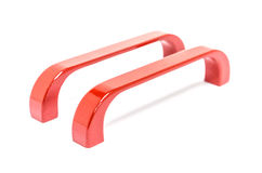 Furniture Handles red Royalty Free Stock Photography