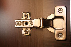 Furniture hinge Royalty Free Stock Photos